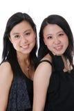 chińscy przyjaciele dwa Zdjęcia Royalty Free