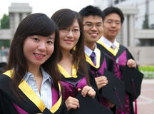 chińscy ucznie obrazy stock