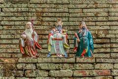 Chińska bóg statua Obrazy Royalty Free