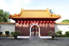 chińska brama Obrazy Royalty Free