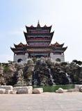 Chińska dziejowa architektura fotografia royalty free
