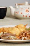 chińska karmowa ustalona herbata Obrazy Royalty Free