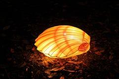Chińska latarniowego festiwalu denna skorupa Obrazy Royalty Free