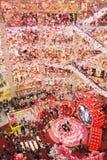 Chińska nowy rok dekoracja w pawilonie Kuala Lumpur Obrazy Stock