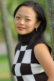 chińska portret kobiety Zdjęcie Royalty Free