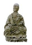 Chińska stara statua w Bangkok, Tajlandia Zdjęcie Stock