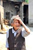 chińska starsza kobieta Obrazy Stock