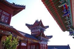 Chińska tradycyjna architektura Zdjęcia Royalty Free
