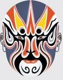 chińska twarzy opera. Obraz Stock