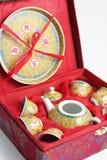 chińska ustalona herbata Zdjęcia Stock