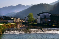 chińska wioska Zdjęcie Stock