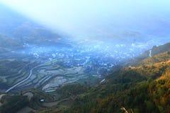 Chińska wioska Lingjiao Obraz Stock