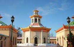 Chińska wioska w Pushkin Obrazy Royalty Free