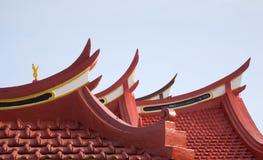 chiński 1 dach Zdjęcia Stock