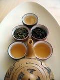chiński 5 herbaty. obraz royalty free