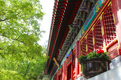 Chiński antyczny budynek Obrazy Royalty Free