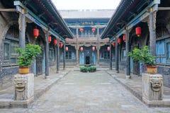 Chiński antyczny podwórze Obrazy Royalty Free