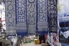 Chiński batik Zdjęcia Royalty Free