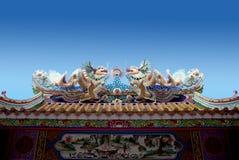 Chiński budynku styl Obraz Stock