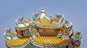 Chiński budynku styl Obrazy Stock