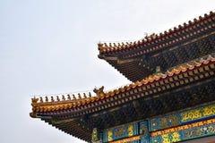 chiński dach Zdjęcie Stock