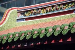 Chiński dach Zdjęcie Royalty Free