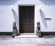 chiński drzwi Fotografia Royalty Free