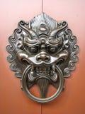 chiński drzwiowy knocker Zdjęcie Stock
