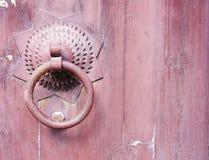 Chiński drzwiowy knocker Obrazy Royalty Free