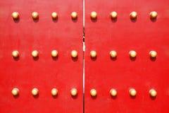 chiński drzwiowy tradycyjny Obraz Royalty Free