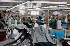 chiński fabryczny pot Zdjęcie Royalty Free