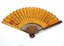 Chiński Fan Obrazy Stock