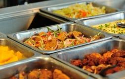 Chiński fasta food bufeta jedzenie Obrazy Stock