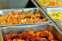 Chiński fasta food bufeta jedzenie Fotografia Royalty Free