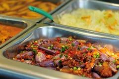 Chiński fasta food bufeta jedzenie Obraz Royalty Free