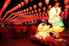 chiński festiwalu latarnia Fotografia Royalty Free