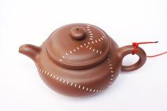 chiński gliniany teapot zdjęcie stock