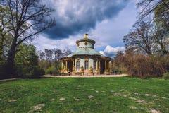 Chiński Herbacianego domu pawilon w Potsdam Zdjęcie Stock