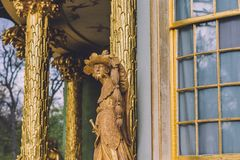 Chiński Herbacianego domu pawilon w Potsdam Zdjęcie Royalty Free