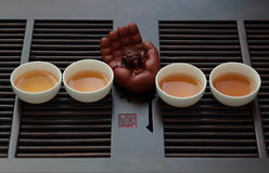 Chiński herbata set Zdjęcia Royalty Free