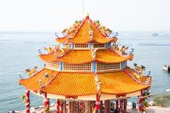 Chiński historii architektury budynek Fotografia Stock