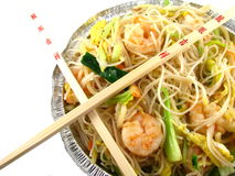 chiński jedzenie out bierze Fotografia Stock