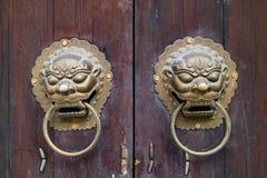chiński knocker zdjęcie royalty free