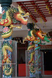 chiński kolorowy smok Zdjęcia Royalty Free