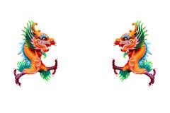 chiński kolorowy smok Obrazy Stock
