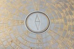 Chiński kompas Fotografia Stock