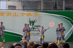 chiński kongfu Obrazy Stock