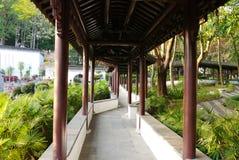 chiński korytarz Obrazy Royalty Free