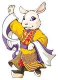chiński królik Zdjęcia Royalty Free