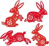chiński królika rok zodiak Zdjęcie Royalty Free